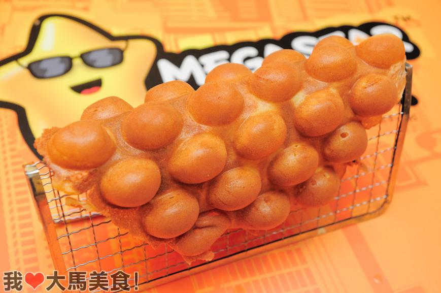 Megastar Hong Kong Street Food, Plaza Low Yat, Bukit Bintang, Hong Kong Egglet, Curry Fish Ball