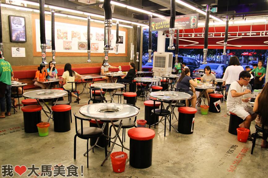 韩国烤肉, Sae Ma Eul BBQ, PV128, Setapak, Jalan Genting Klang, Pork Rib, Baby Octopus, Spicy Rice Ball