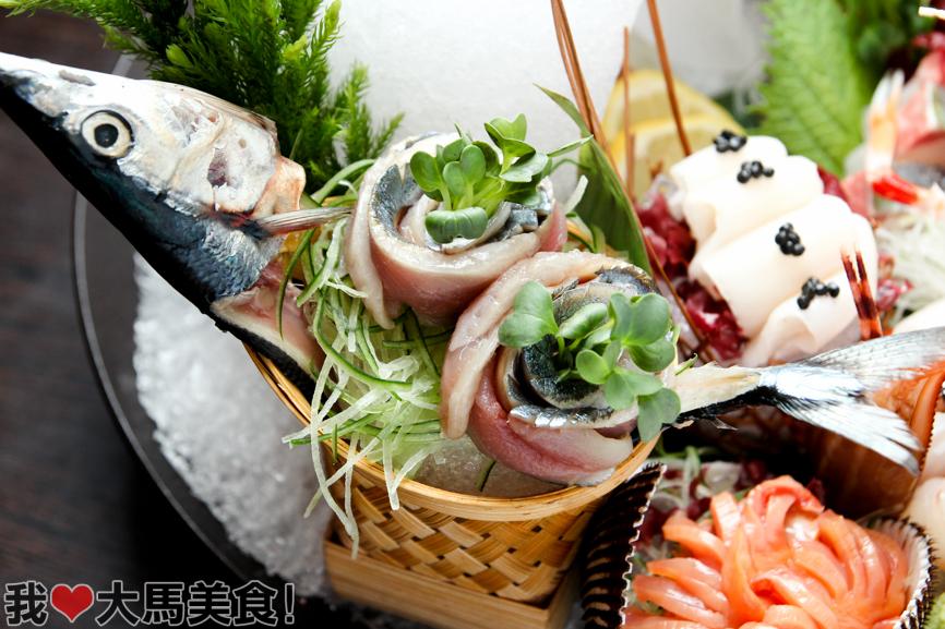 日本料理, 旧巴生路, 怀石料理, ishin japanese dining, old klang road, japanese food