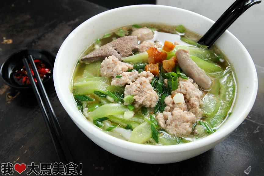 老妈子, 猪肉粉, mama love, pork noodle, taman tun perak, cheras batu 9, kl