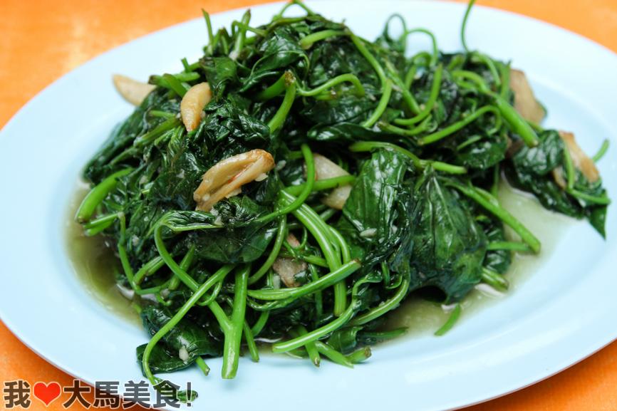 清炒树苗, 易生发, 家乡松鱼头, yee sang fatt, 238, seafood restaurant, jalan genting klang, setapak