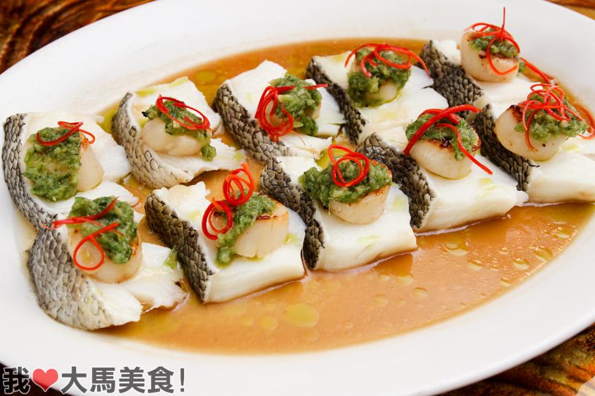 鳕鱼, 年菜, qing zhen chinese restaurant, novotel klcc, cny, 2015, chinese food