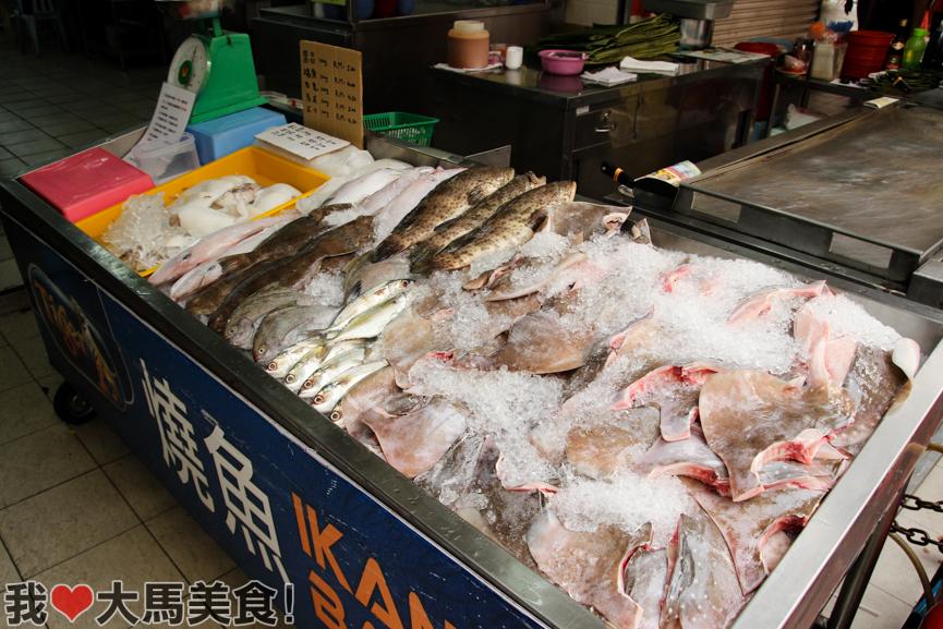 文良港, 客人来, 烧鱼, restoran ke ren lai, ikan bakar, prima setapak